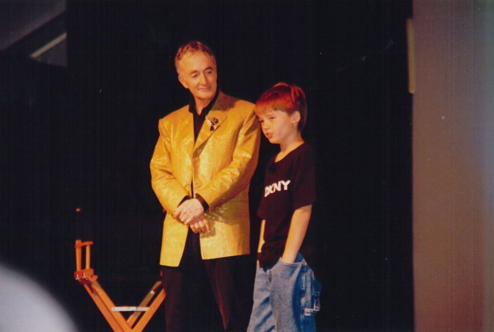 Anthony Daniels and Jake Lloyd during the Star Wars Celebration in September 2007. | Photo: Flickr/Doug Kline