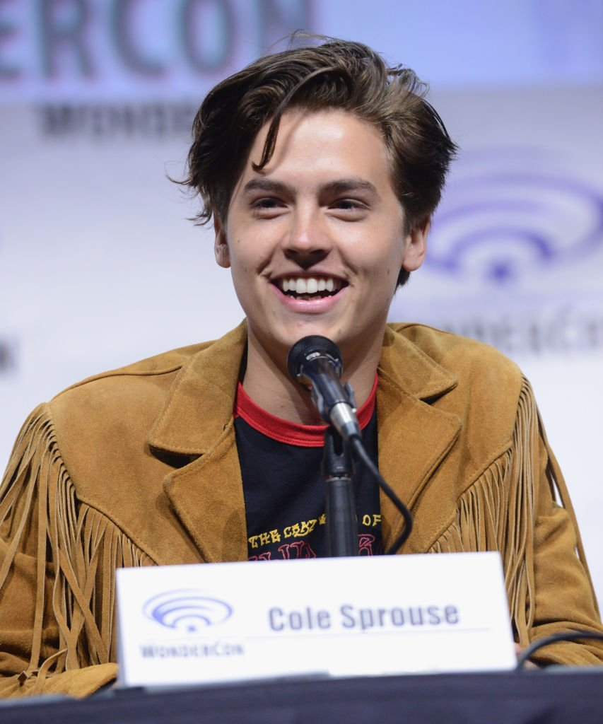 Cole Sprouse en mars 2017. Photo : Getty Images