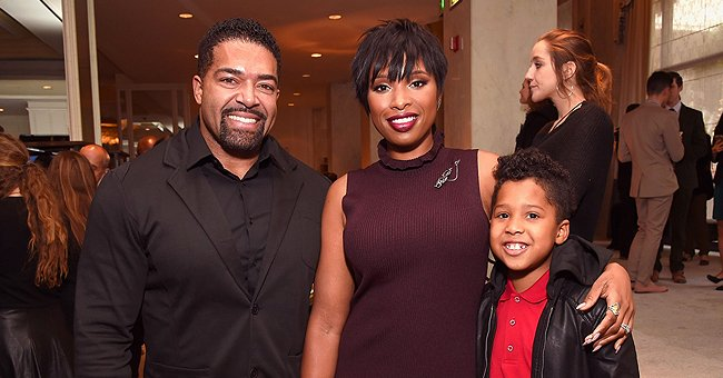 Jennifer Hudson's Ex David Otunga Conditions Their Son's Hair to Build up His Confidence