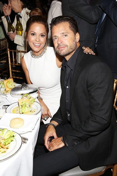 Brooke Burke and singer David Charvet attend the World of Children Awards Ceremony on October 27, 2016  | Photo: Getty Images