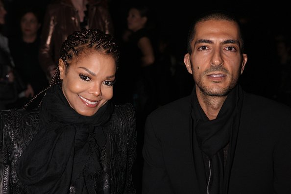Janet Jackson and Wissam al Mana attend the Sergio Rossi presentation cocktail during Milan Fashion Week Womenswear Fall/Winter 2013/14  in Milan, Italy.| Photo: Getty Images.