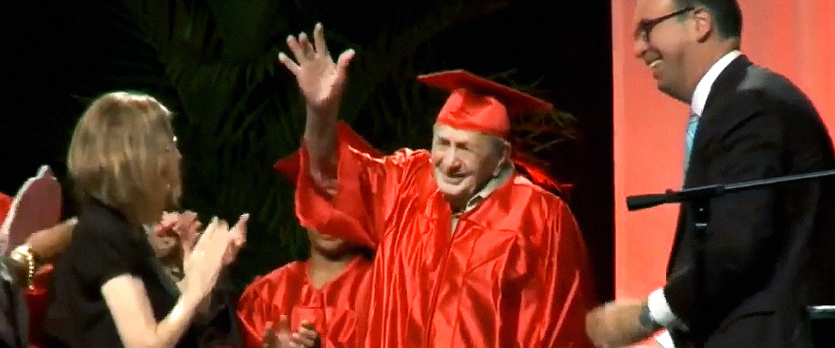 85 and 95-Year-Old US Veterans Finally Fulfill Their Dream of Getting High School Educations