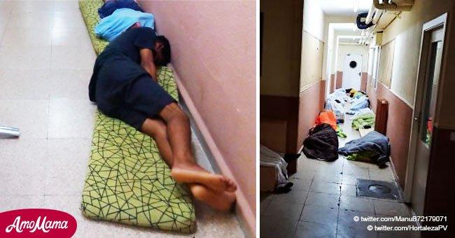 'Estamos abandonados': niños de refugios madrileños duermen en el suelo como ratas