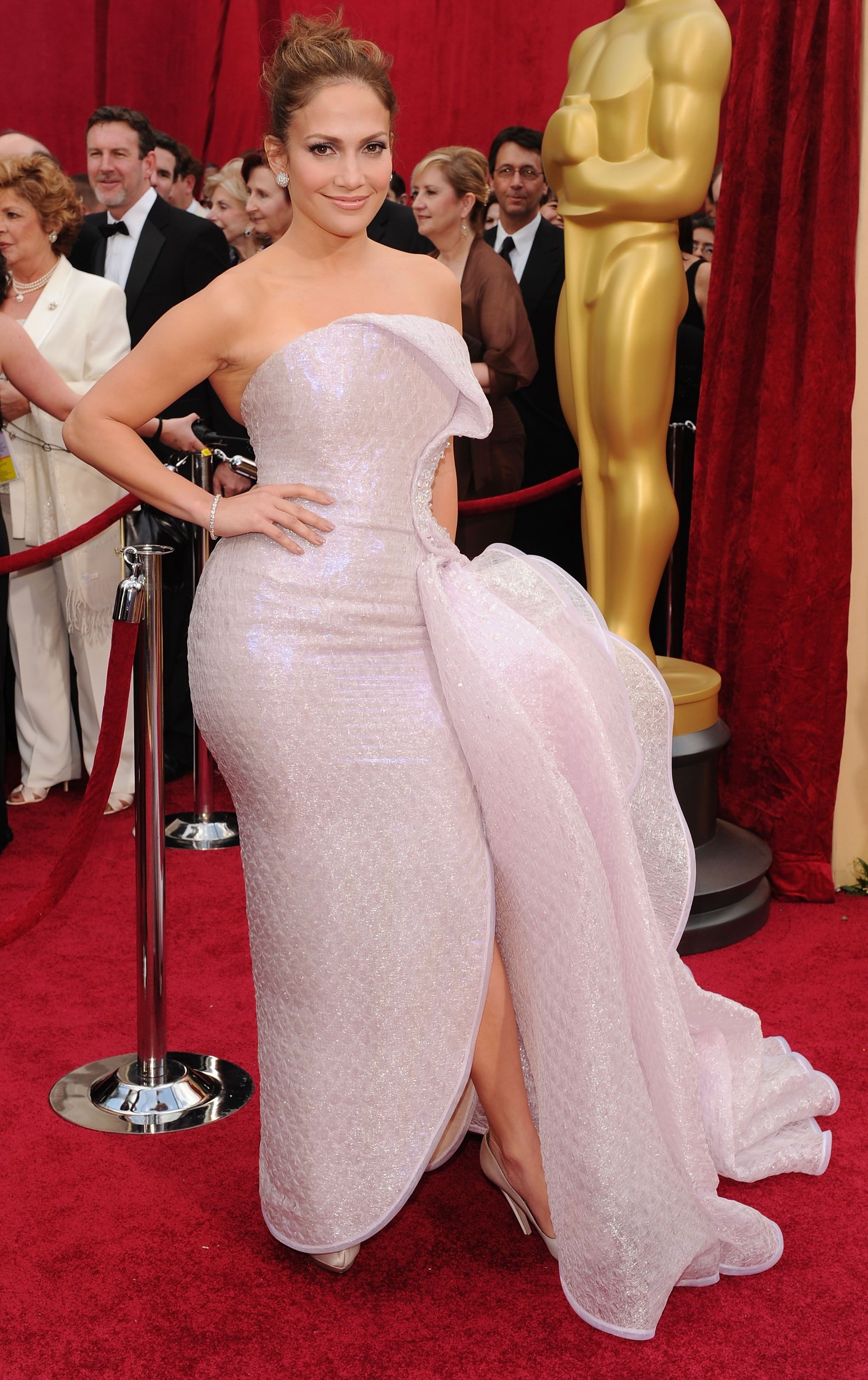 Jennifer Lopez at the 82nd Annual Academy Awards in 2010 in Hollywood, California | Getty Images