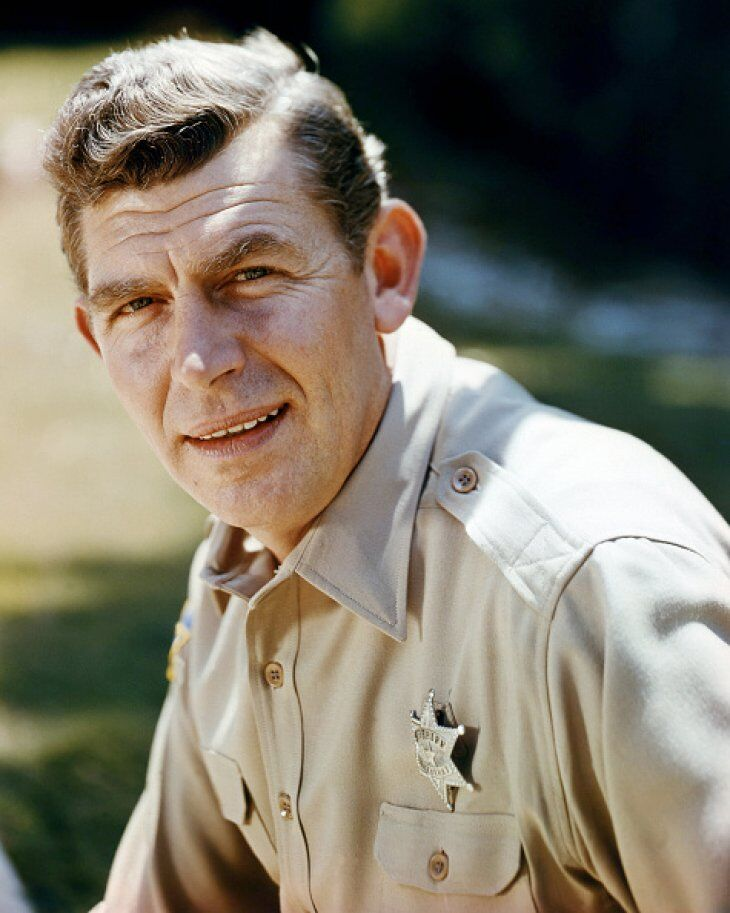 Andy Griffith in the sixties. Image credit: Getty Images/GlobalImagesUkraine