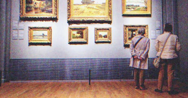 Mrs. Scarlet Hensley stared at one portrait all day. | Source: Shutterstock