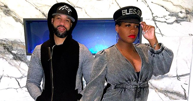 'American Idol' Alum Fantasia Shows Baby Bump Rocking a Denim Jumpsuit & Fishnet Heels (Photo)