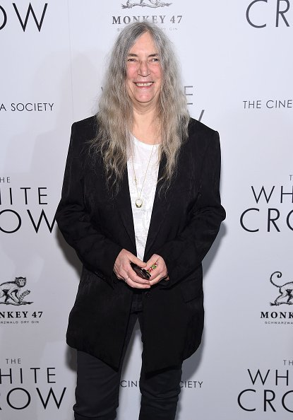 "Patti Smith attends ""The White Crow"" New York Premiere at Metrograph on April 22, 2019, in New York City. 