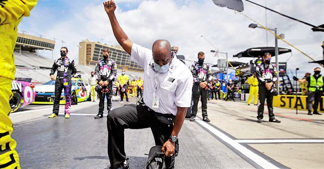 NASCAR Official Kirk Price Took a Knee During the National Anthem — Meet Him