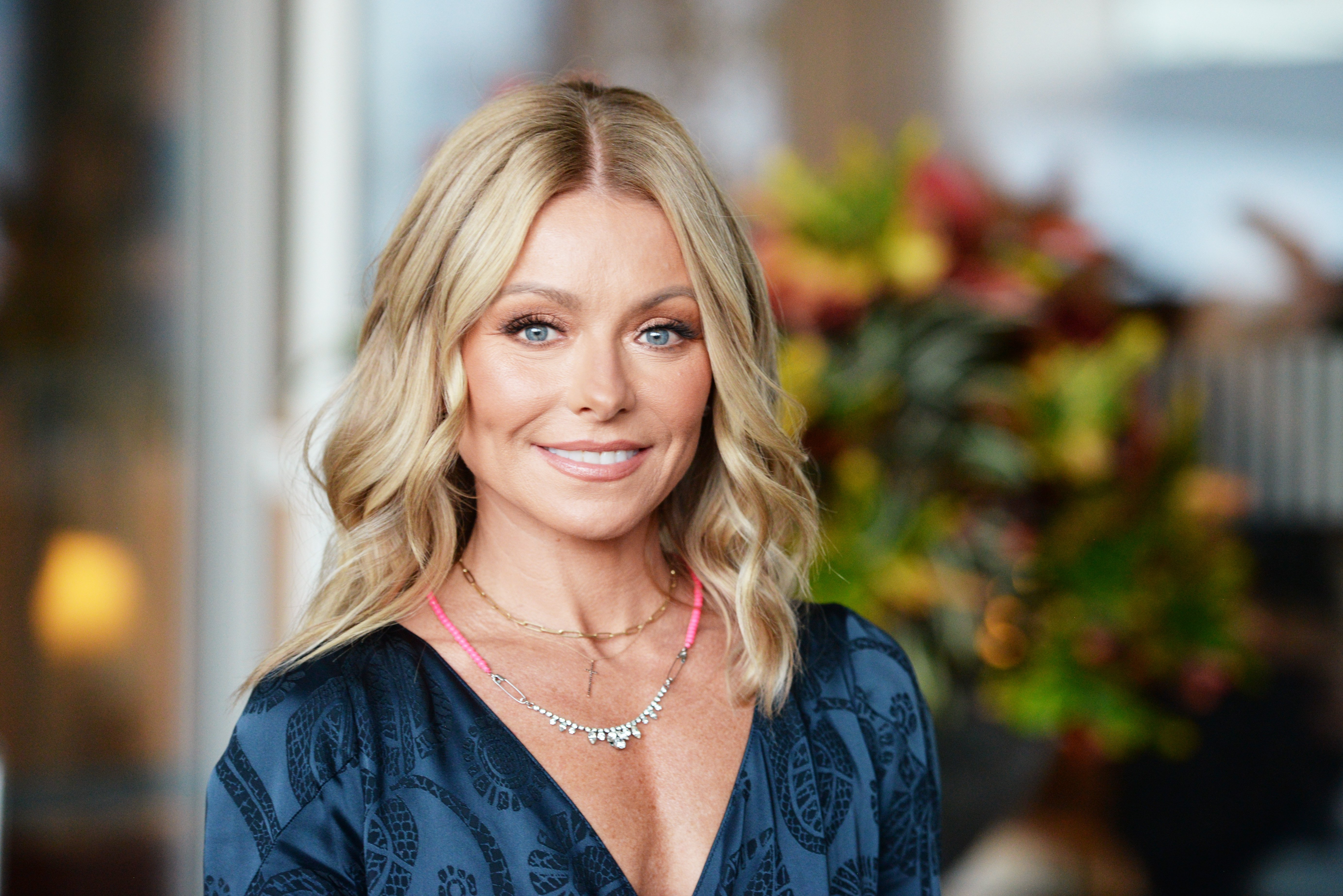 Kelly Ripa attends the 49th Anniversary Gala Vanguard Awards on September 22, 2018, in Beverly Hills, California. | Source: Getty Images.