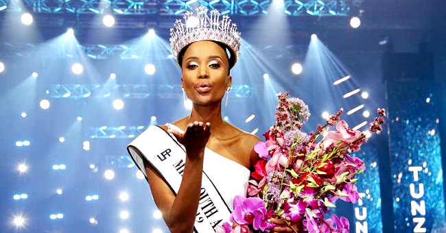 Zozibini Tunzi Becomes 1st Miss South Africa to Be Crowned While Rocking Natural Hair