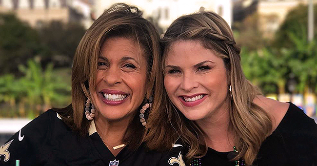 Hoda Kotb Announces Jenna Bush Hager's Return to 'Today' Show after Maternity Leave with Video and Photos