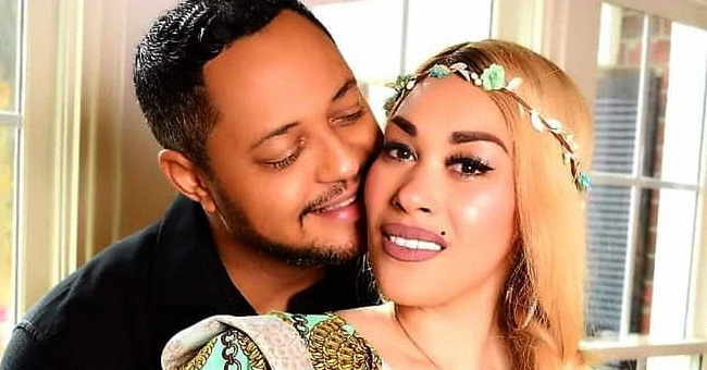 Keke Wyatt Shares Photo of Husband Cradling Her Baby Bump