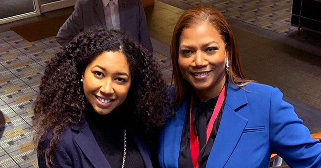 Aoki Lee Simmons Shares Photo with Queen Latifah at Harvard Where She Was Receiving the WEB Du Bois Medal