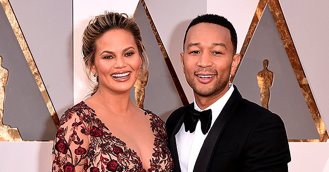 Chrissy Teigen Wears Onesie Featuring Husband John Legend's Sexiest Man Alive Cover for Thanksgiving