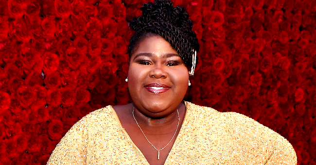 Gabourey Sidibe of 'Empire' Stuns in Glittery Dress and High Heels at Tyler Perry's Studio Opening Gala