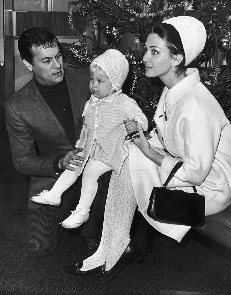 Image Credits: Getty Images/ Tony Curtis with his wife Christine Kaufmann and their daughter Alexandra