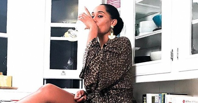 Diana Ross' Daughter Tracee Flaunts Enviable Legs in Leopard-Print Dress