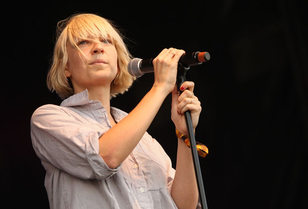 Sia performs during the 2008 All Points West music and arts festival at Liberty State Park on August 9, 2008 in Jersey City, New Jersey. | Source: Getty Images