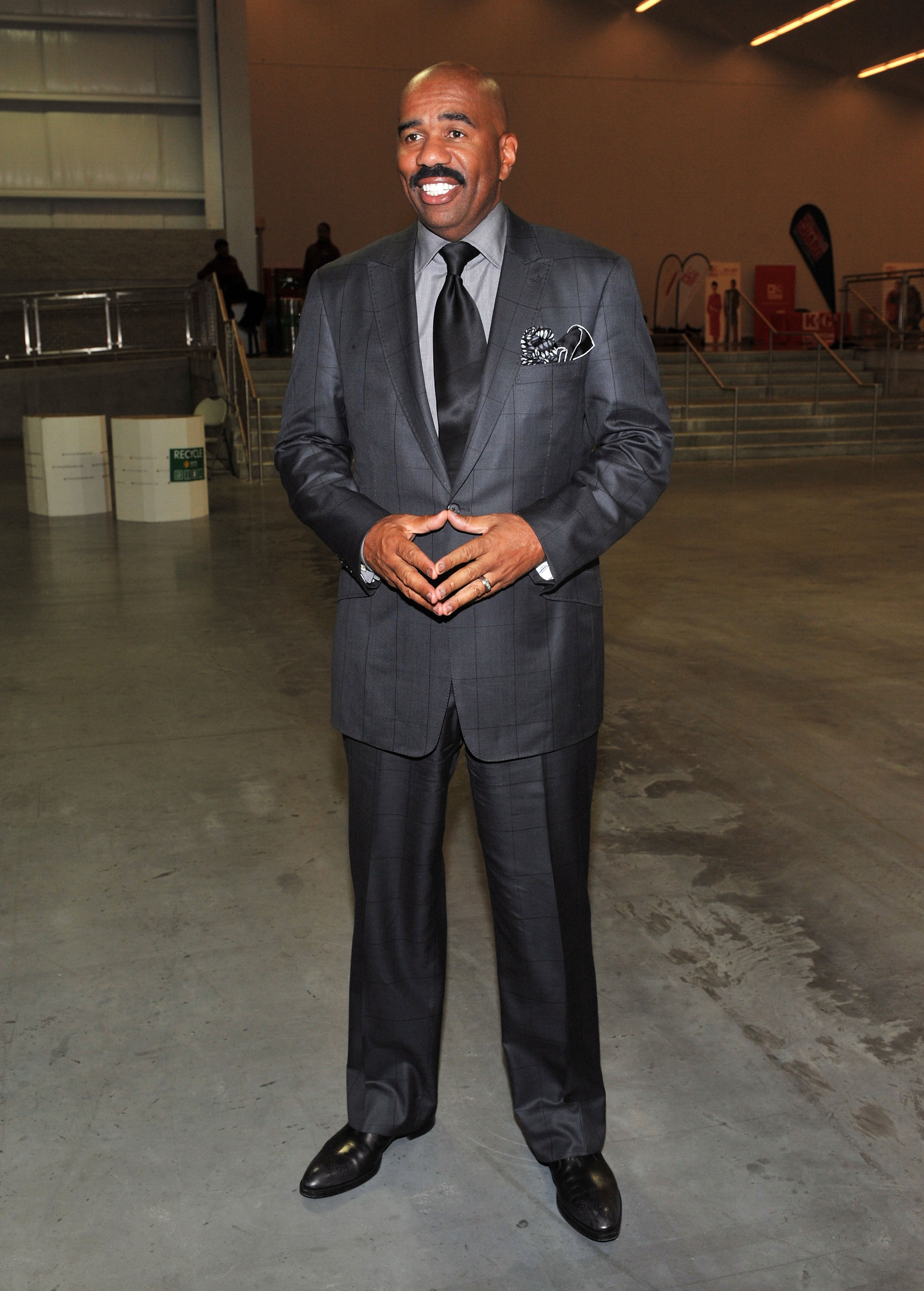 Steve Harvey attends the Steve Harvey Mentoring Weekend in New York City on October 7, 2011 | Photo: Getty Images