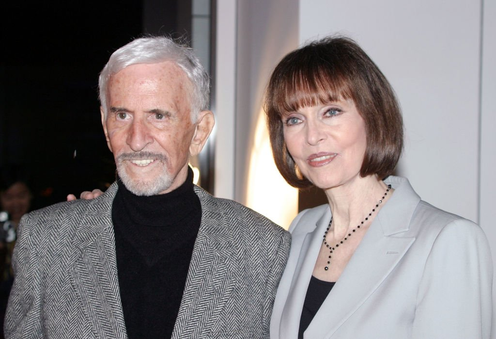 Don Adams and Barbara Feldon on November 5, 2003 in Beverly Hills, California | Source: Getty Images