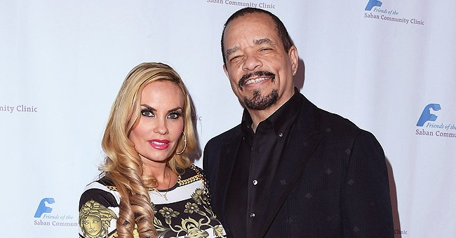 Ice-T's Much Younger Wife Coco Turns Heads in the Streets in Leopard-Print Top & Belted Shorts