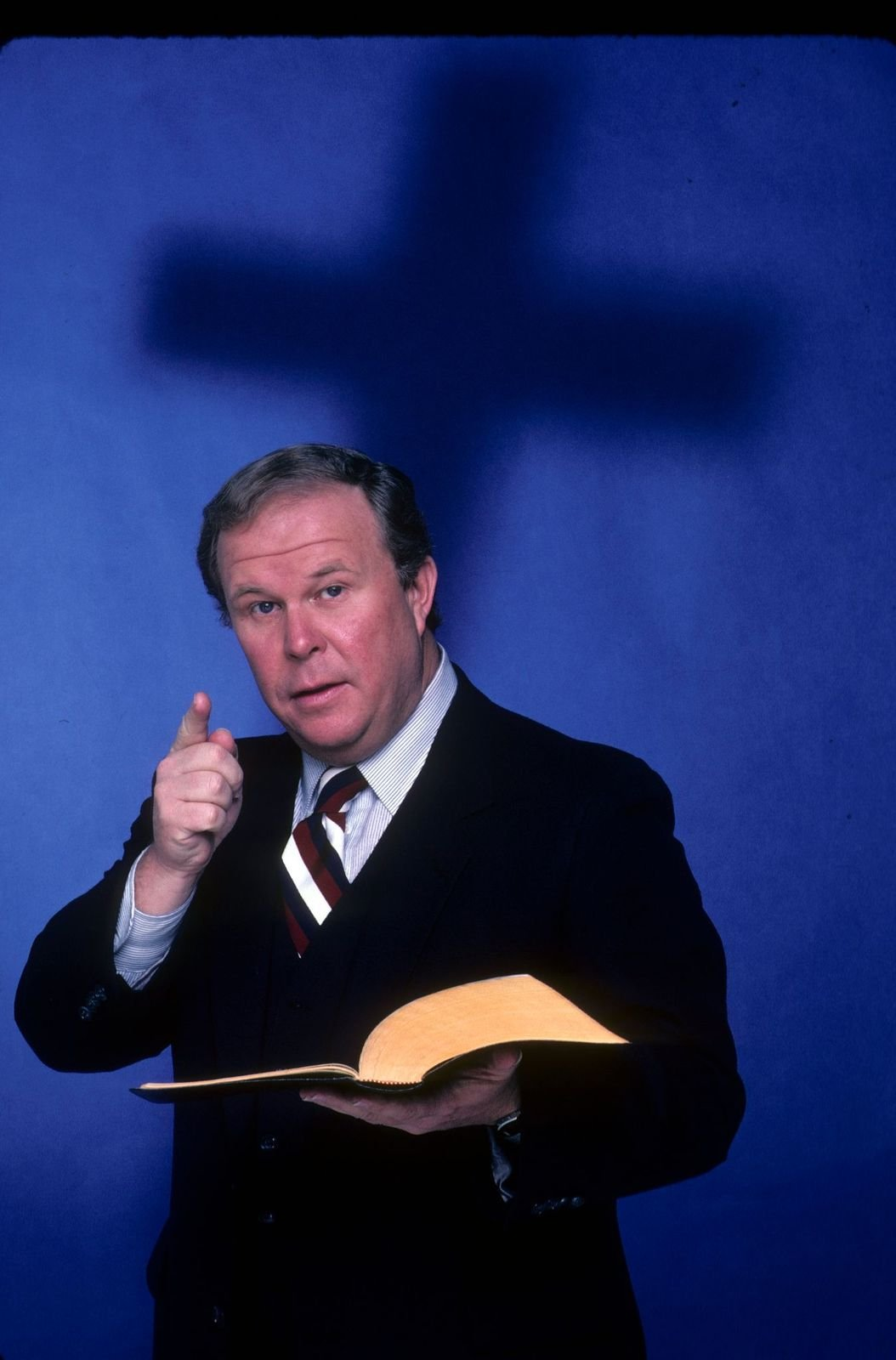"""Ned Beatty on ABC's """"Pray TV - TV Movie"""" set for February 1, 1982, air date