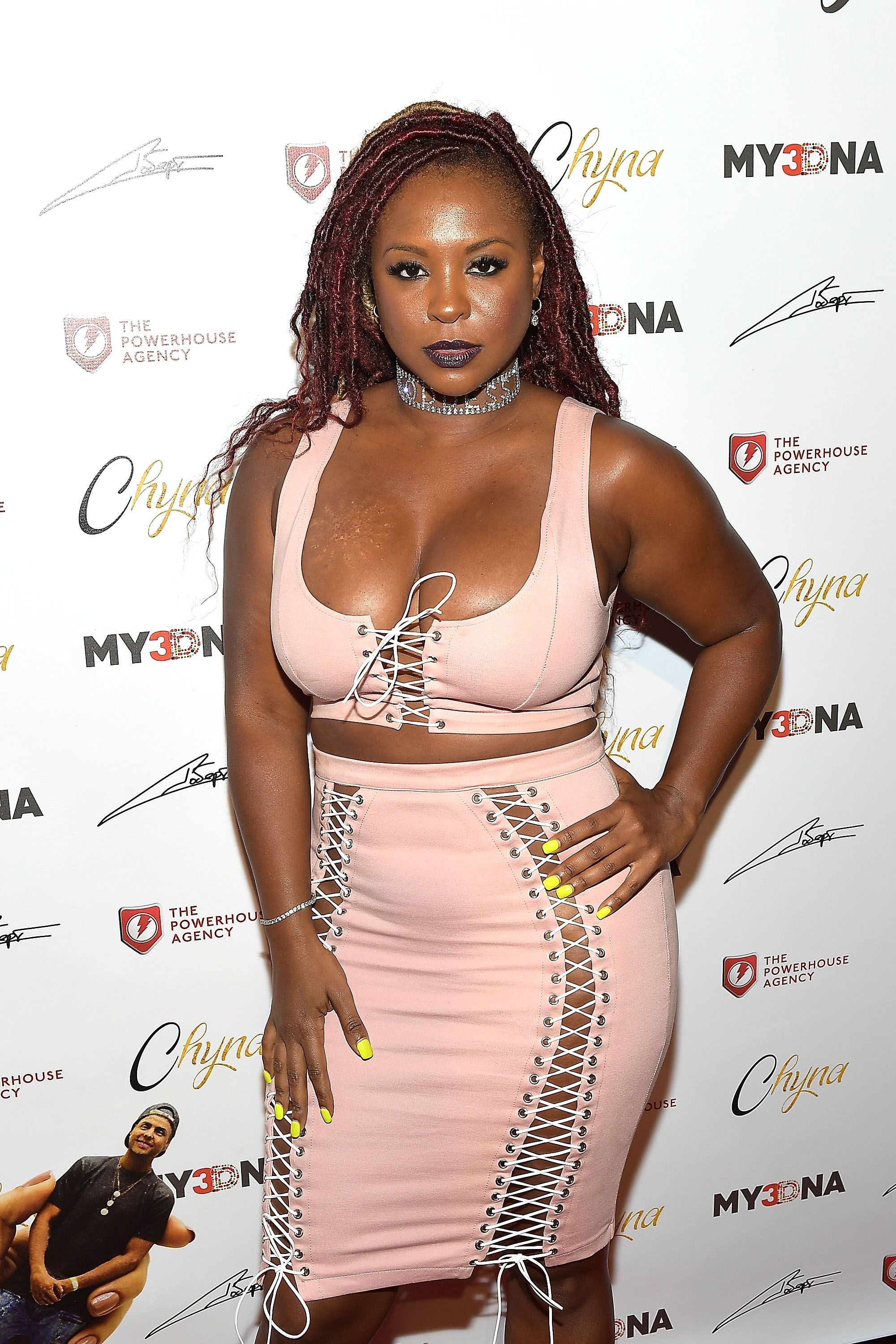 Torrei Hart makes an appearance at the launch of Blac Chyna's figurine dolls in LA, California on August 17, 2017.   Photo: Getty Images/Matt Winkelmeyer