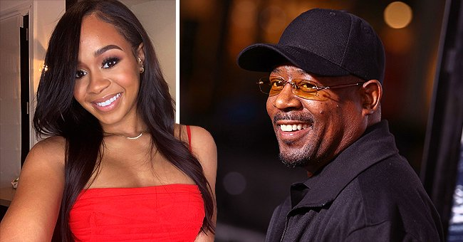 Martin Lawrence's Grown Daughter Jasmine Puts Curves on Display in Figure-Hugging Red Dress
