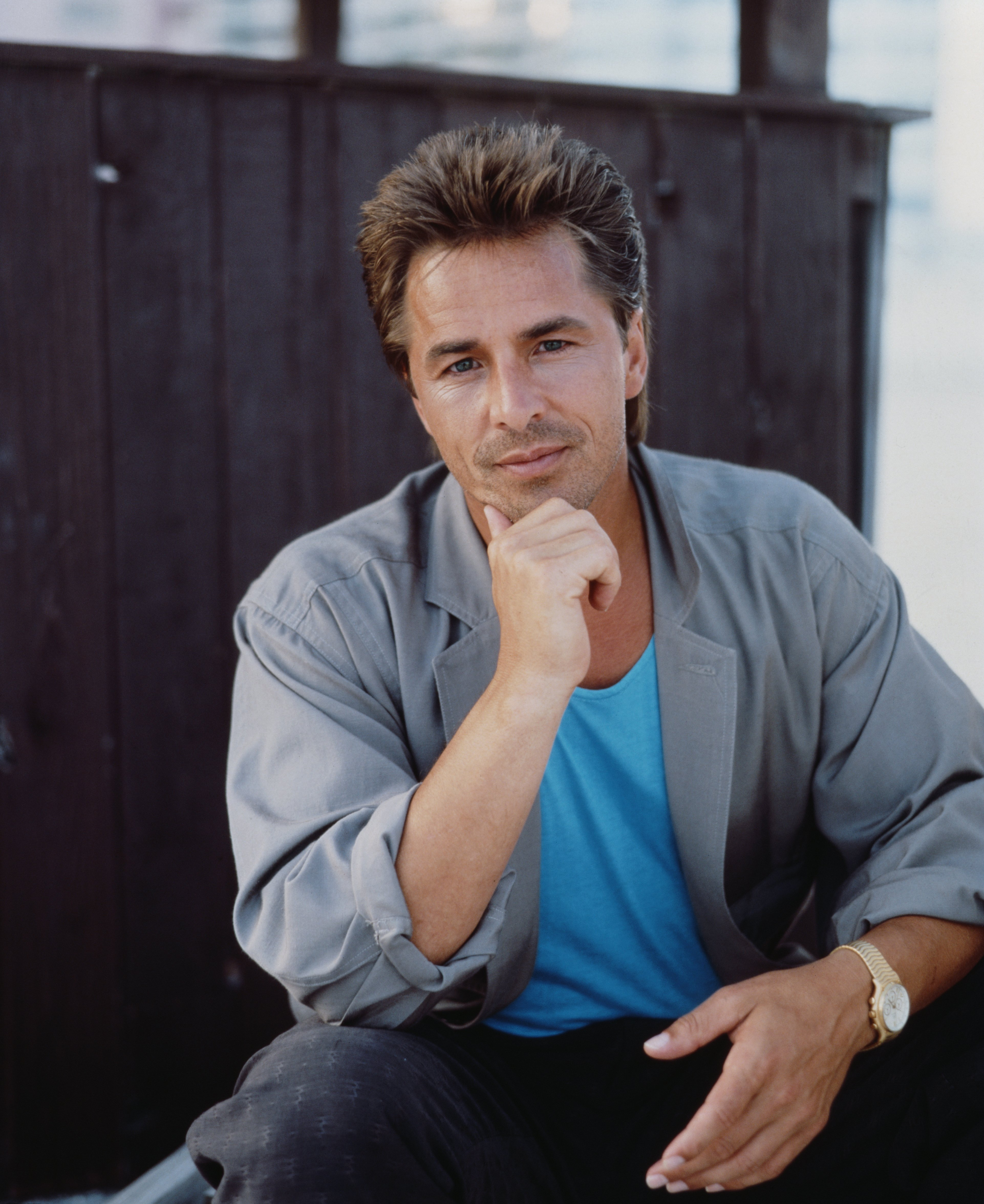 Don Johnson poses in shoot in Florida in November 1986 | Photo: Getty Images