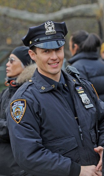 Will Estes filming on location for 'Blue Bloods' in New York City.   Photo: Getty Images.