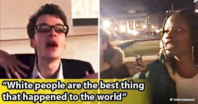 White Columbia student filmed harassing black peers with supremacist rant in disturbing video