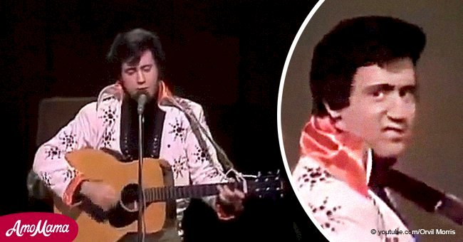 Andy Kaufman once stunned Johnny Cash with a perfect Elvis Presley impression