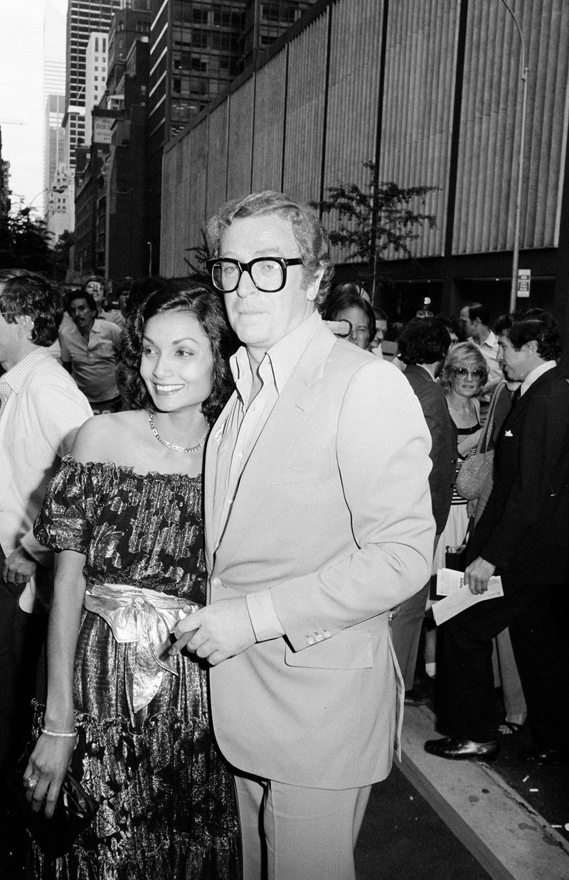 Michael Caine and wife Shakira Caine | Photo: Getty Images