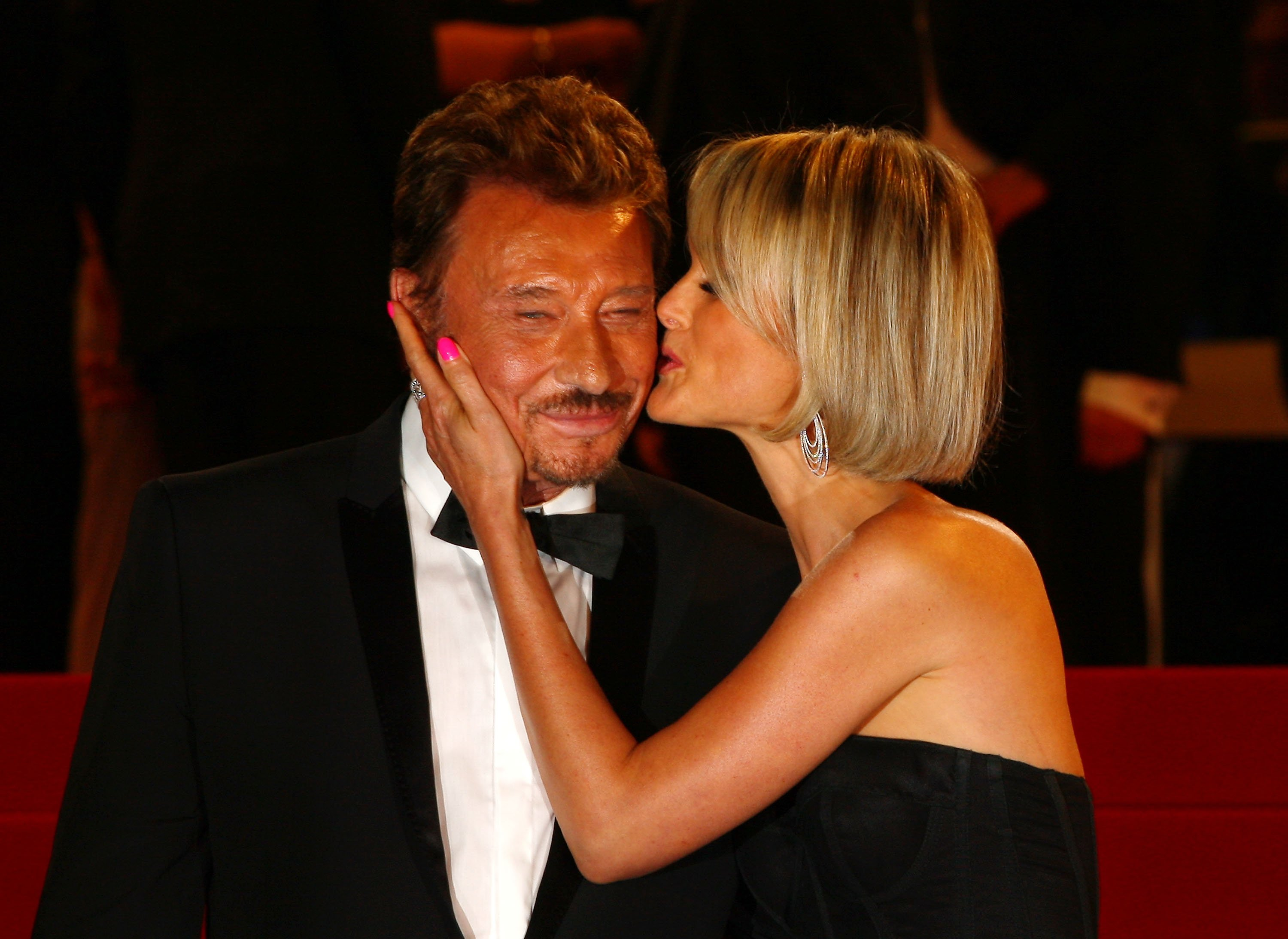 Johnny Hallyday et Laeticia   photo : Getty Images