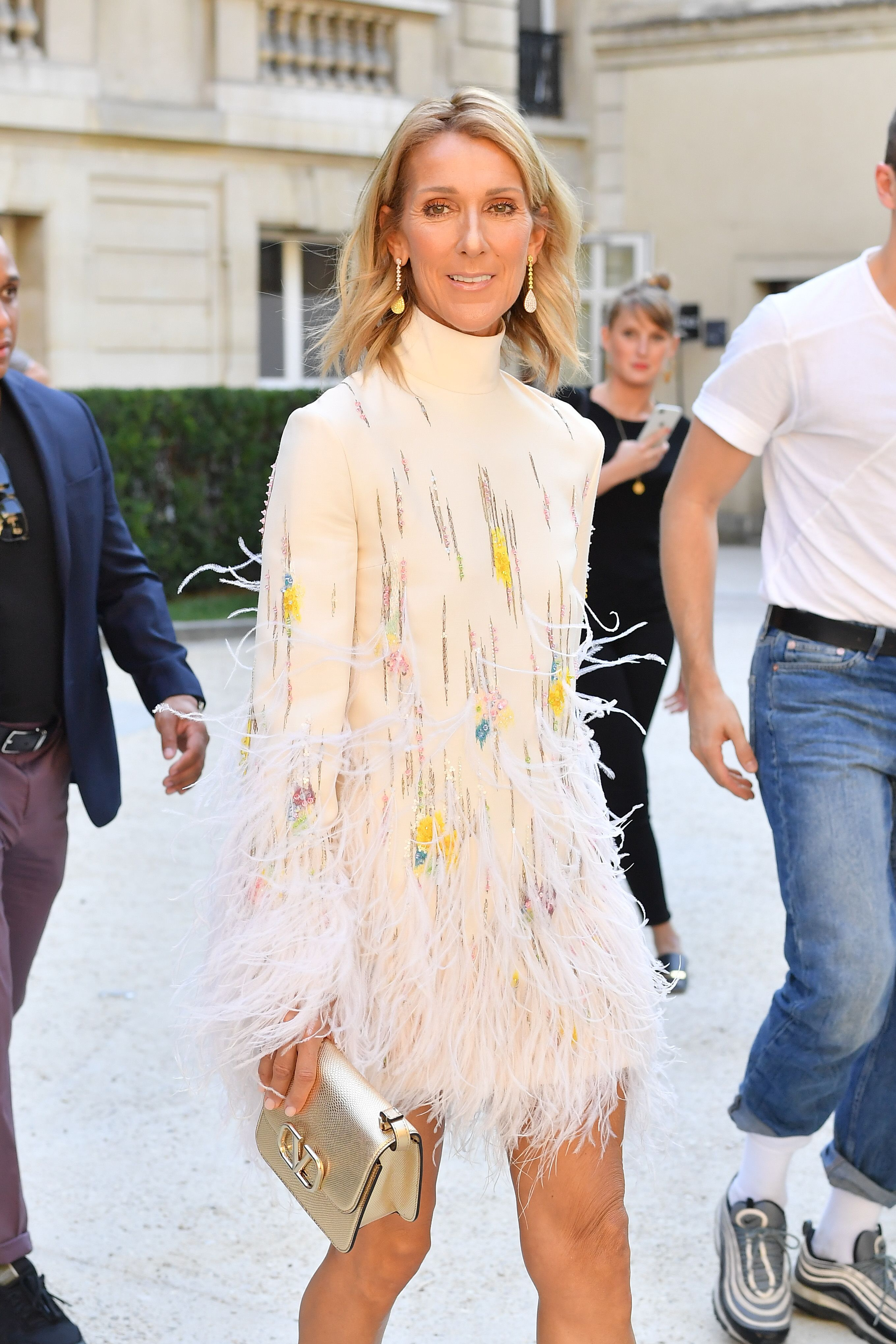 Celine Dion attends the Valentino Haute Couture Fall/Winter 2019 2020 show as part of Paris Fashion Week on July 03, 2019 in Paris, France.   Source: Getty Images