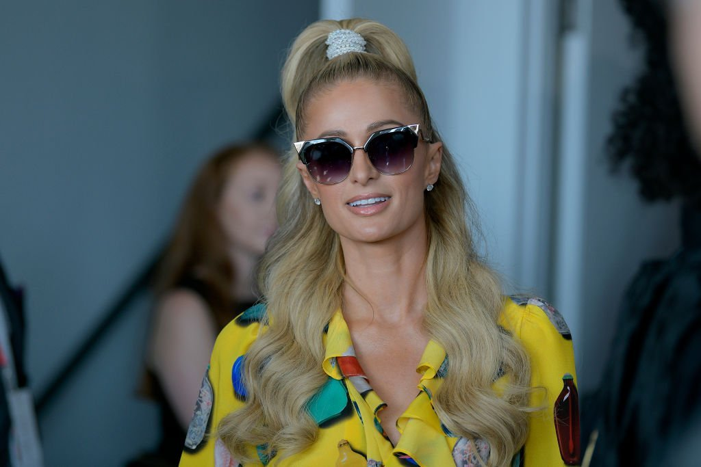 Paris Hilton attends Libertine fashion show during New York Fashion Week: The Shows at Gallery II at Spring Studios | Photo: Getty Images