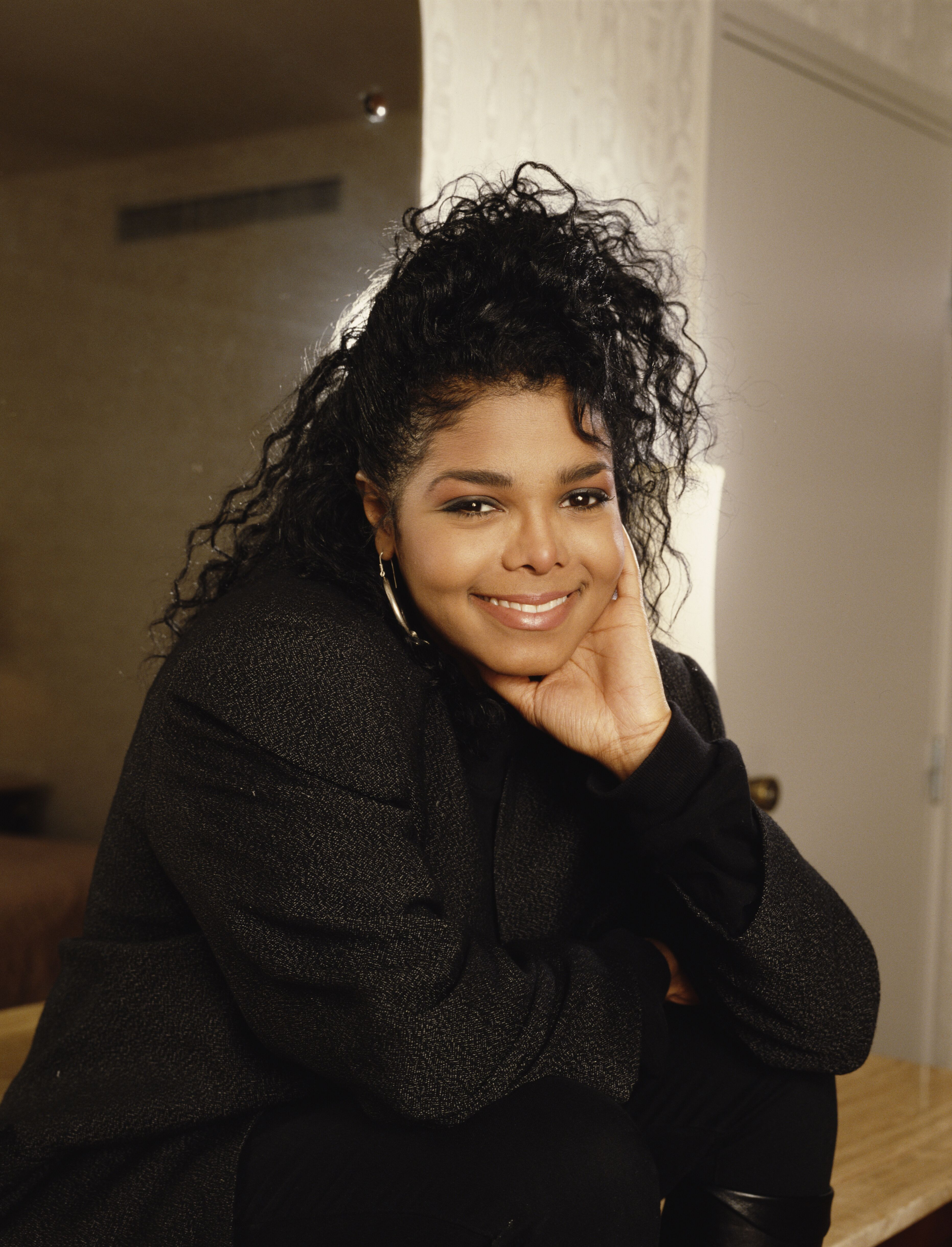 American singer Janet Jackson, circa 1990. | Source: Getty Images