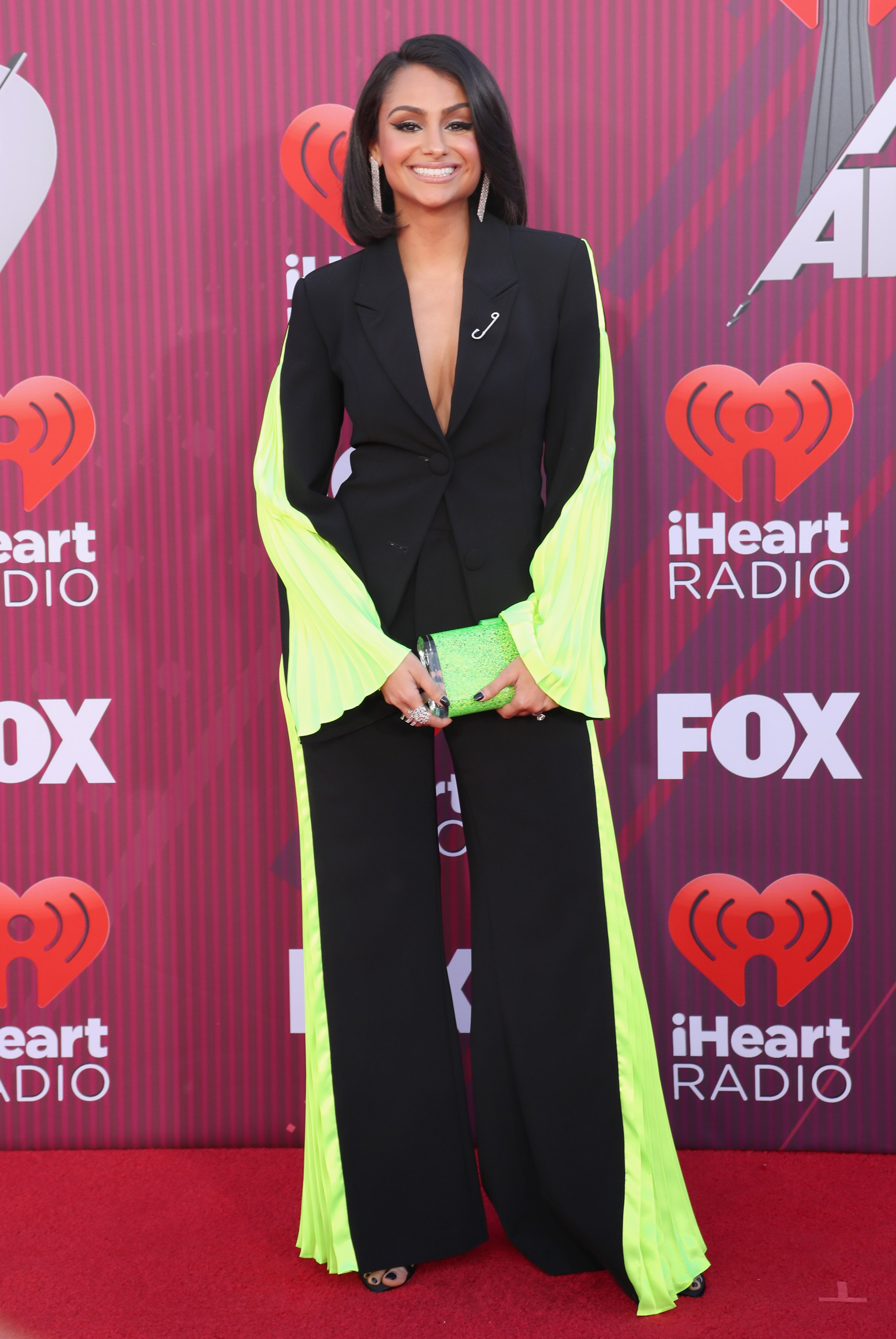 Nazanin Mandi a the 2019 iHeartRadio Music Awards on March 14, 2019 in Los Angeles, California. | Photo by Rich Polk/Getty Images for iHeartMedia