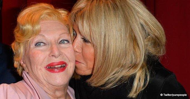 L'étonnante surprise de Brigitte Macron à Line Renaud qui l'a profondément touchée
