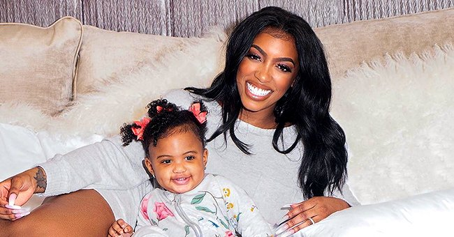 Porsha Williams' Daughter Pilar Flashes a Huge Smile beside Her Sleepy Dad Dennis in a Cute New Photo