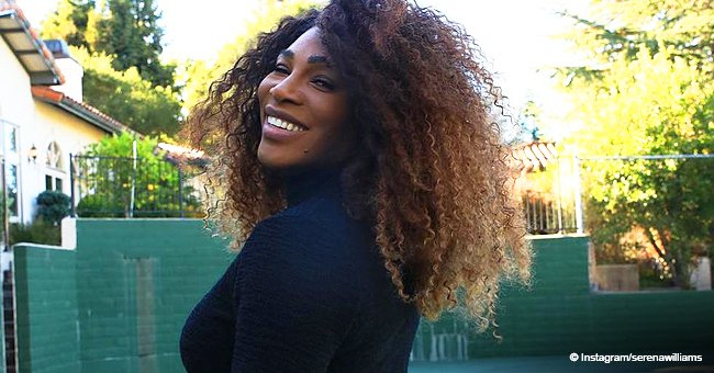 Serena Williams' husband posts pic of daughter in headphones, revealing their striking resemblance