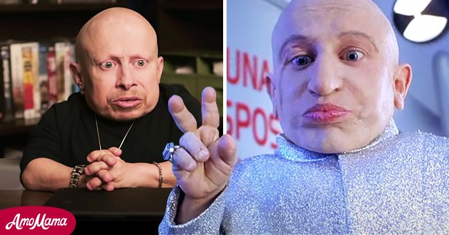 """Verne Troyer in an interview with The Hollywood Reporter and as Mine-Mi in """"Austin Powers"""" 