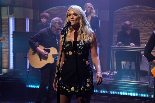 """Miranda Lambert performs on popular talk show,  """"Late night with Seth Meyers"""" on July 18, 2018 