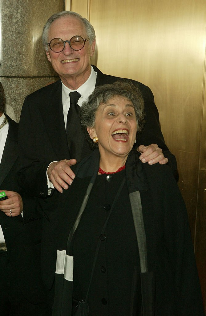 Alan Alda and his wife Arlene Alda attend the 59th Annual Tony Awards at Radio City Music Hall June 5, 2005 | Photo: GettyImages