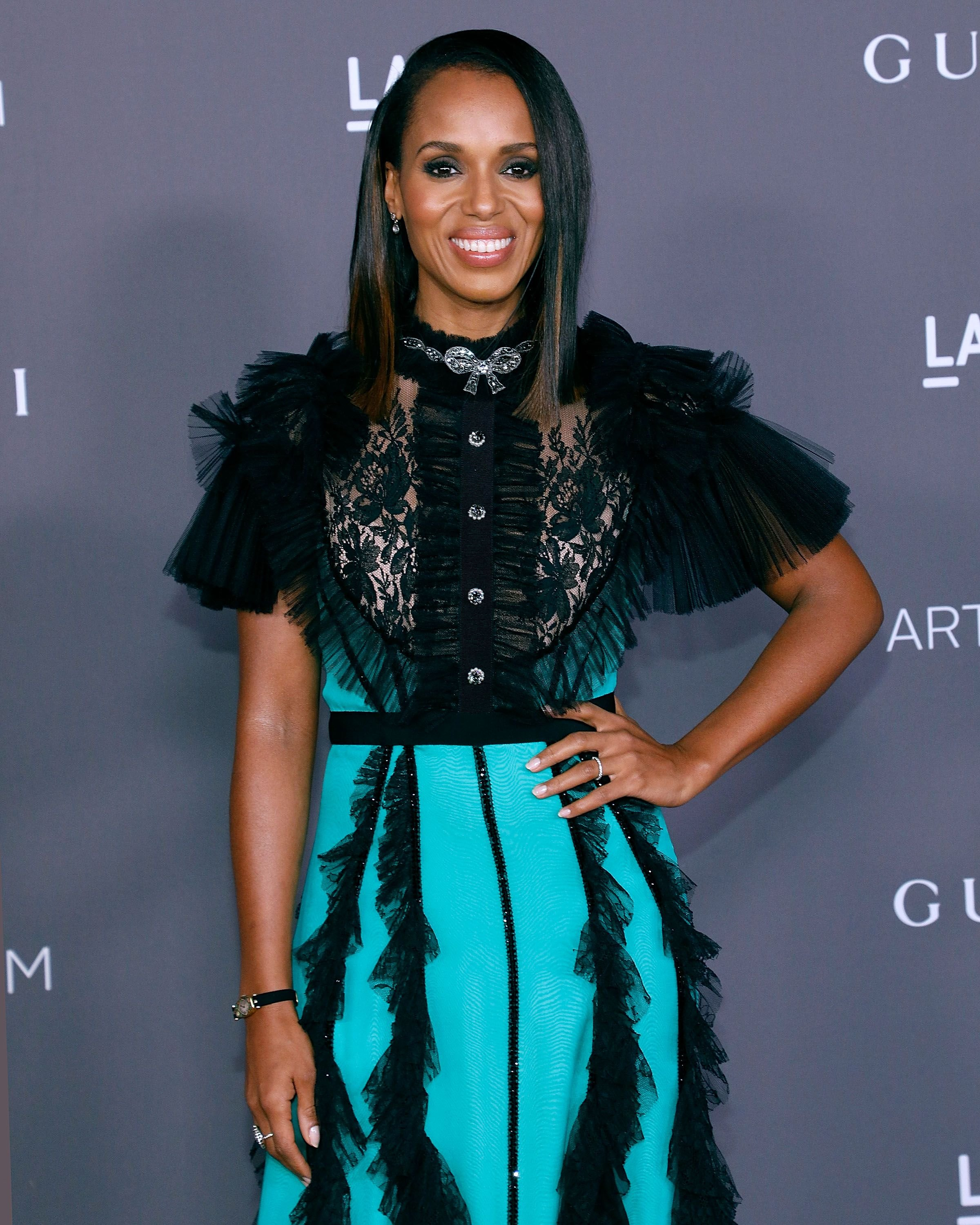 Kerry Washington at the 2017 Art + Film Gala at LACMA on November 4, 2017 in Los Angeles, California | Photo: Getty Images