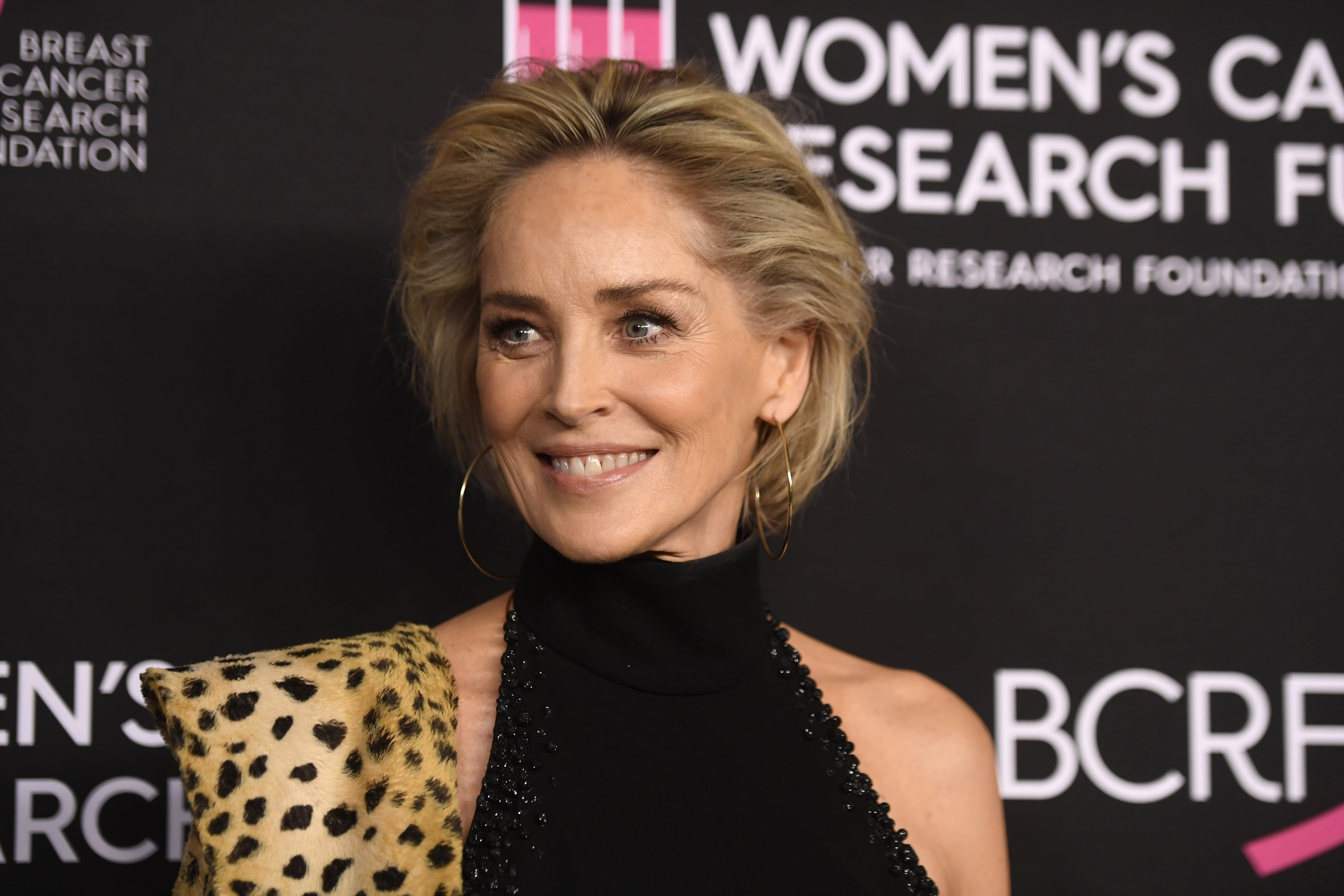 Sharon Stone attends The Women's Cancer Research Fund's An Unforgettable Evening Benefit Gala at the Beverly Wilshire Four Seasons Hotel on February 28, 2019, in Beverly Hills, California. | Source: Getty Images.