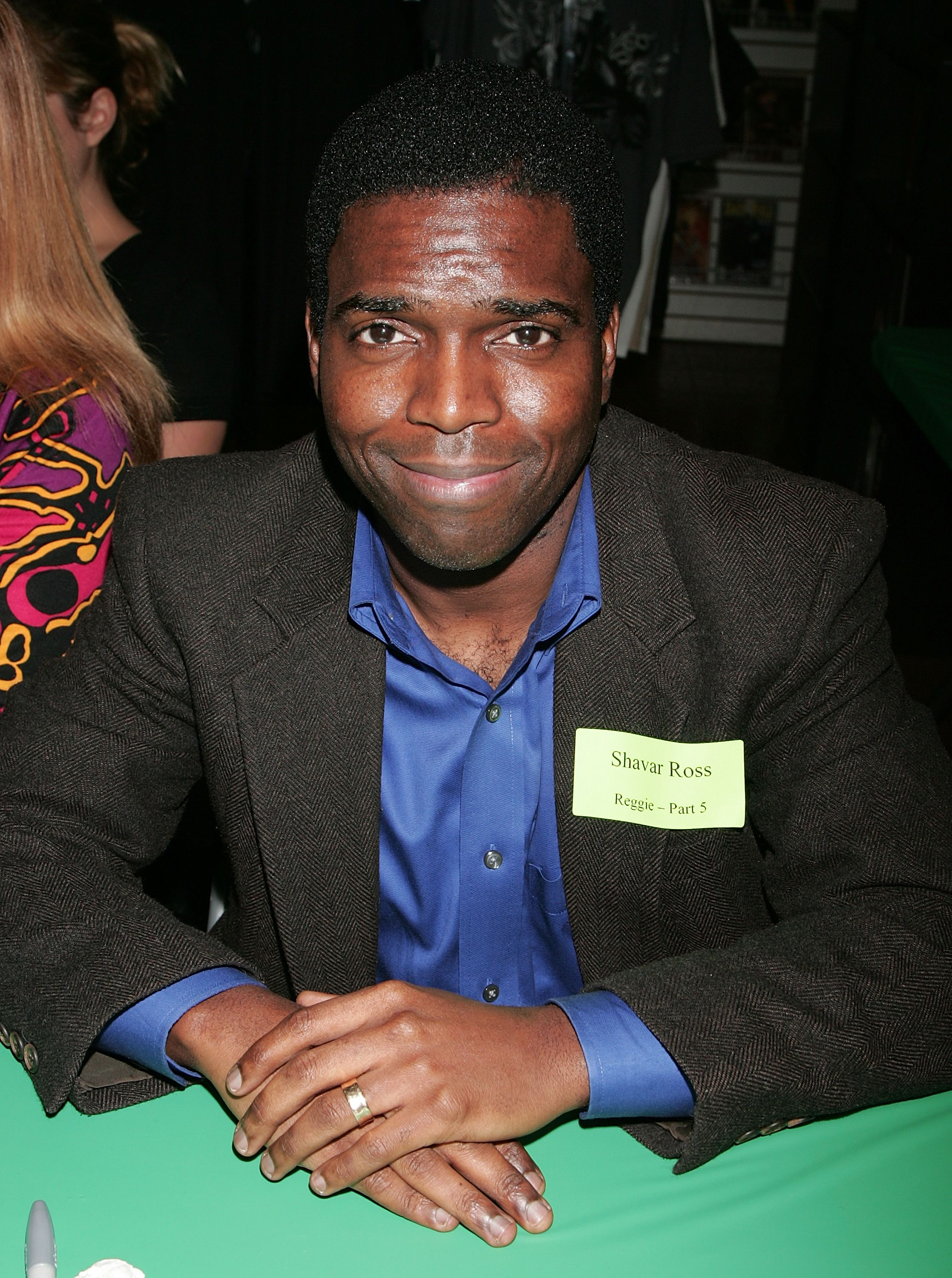 Shavar Ross at the Anchor Bay Entertainment's Jason Voorhees reunion at Emerald Knights comics and games store on February 3, 2009 in Burbank, California. | Source: Getty Images