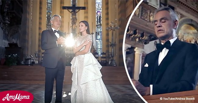 Andrea Bocelli Sings in Church and His Performance is Pure Gold