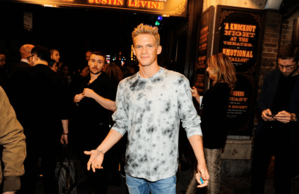 """Cody Simpson at the New York Fashion Week musical, """"The Blonds x Moulin Rouge!"""" On September 09, 2019, New York   Source: Getty Images"""